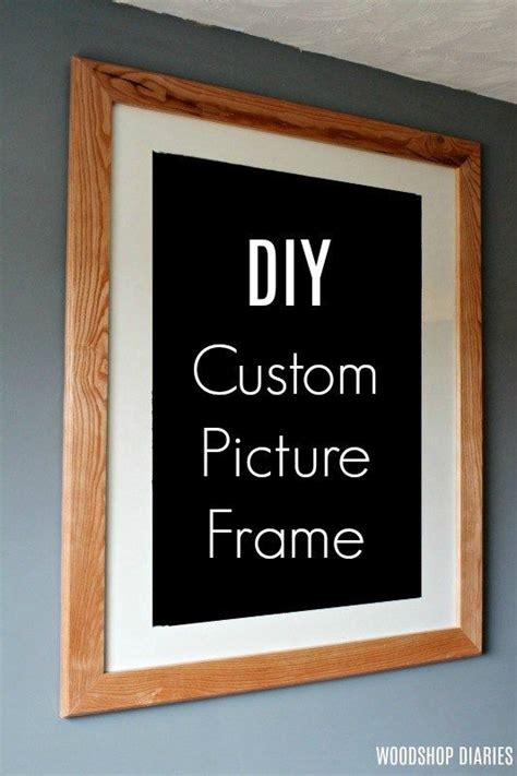 custom diy picture frame picture frame