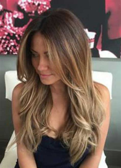 layered long but front not layed 69 cute layered hairstyles and cuts for long hair long