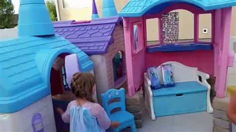 Frozen Castle Playhouse Created By Pam Fluckiger Youtube