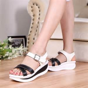 rocker sole shoes s black leather rocker sole shoe sandal cross