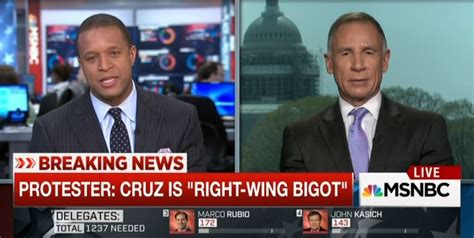 zanbc news msnbc s breaking news protester says cruz is right