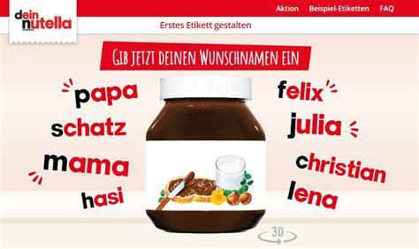 Handy Aufkleber Selber Gestalten by Nutella Etikett Selbst Gestalten So Geht S Chip