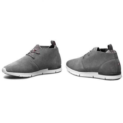 Sneakers Shoes E 039 sneakers hilfiger tobias 8 fm0fm00376 steel grey