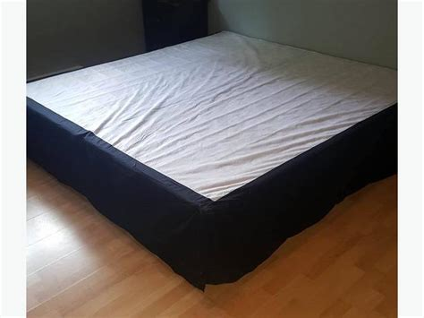 black bed skirt king black bed skirt duncan cowichan