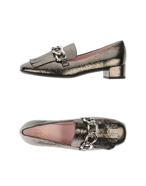 pretty loafers pretty loafers moccasins in gray lyst