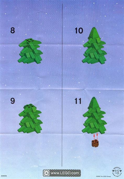 lego christmas tree instructions 10069 seasonal