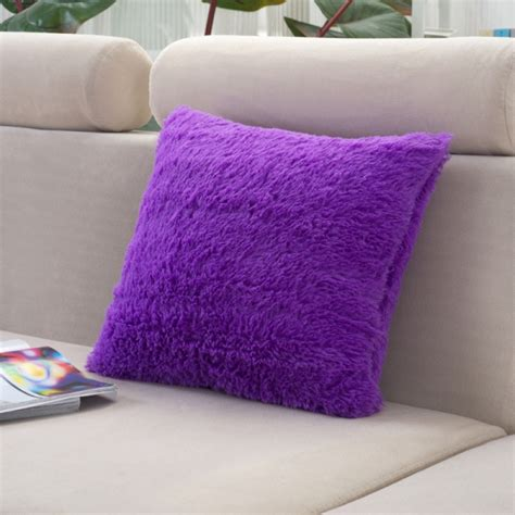 throw pillows bed plush throw pillow cover cushion case bed home sofa