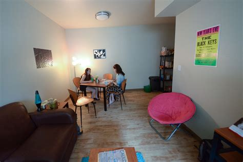 dorm room living a dorm room living space in euclid commons the