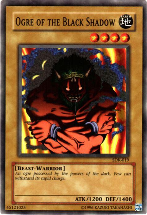 The Black Shadow ogre of the black shadow yu gi oh