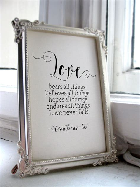 printable wedding quotes wedding quotes for the bride and groom 1 corinthians 13 7