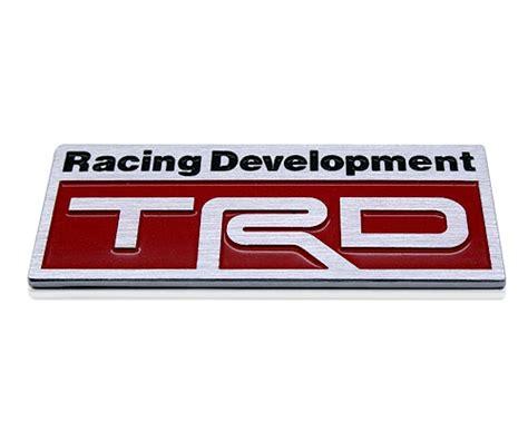 Emblem Racing Development Kecil badge toyota trd racing emblem v spec auto accessories store singapore