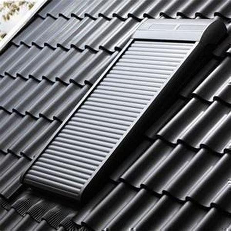 Rollos Für Velux Dachfenster 432 by Velux 174 Au 223 Enrollladen Aluminium Mk08 Elektrisch Sml S