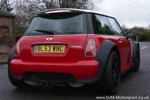 djm motorsport mini worx wheelbae wide arch mini
