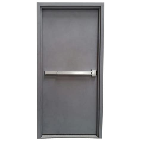 Emergency Exit Panic Button steel panic doors emergency exit steel doors with panic