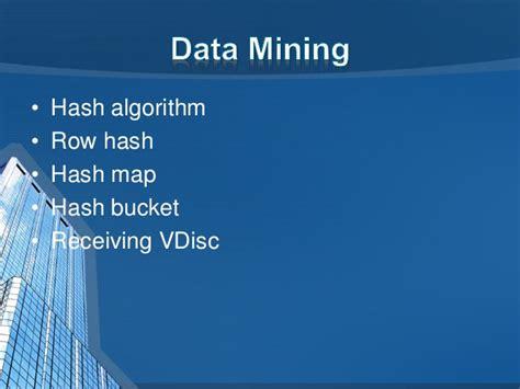 teradata hashing algorithm big data teradata
