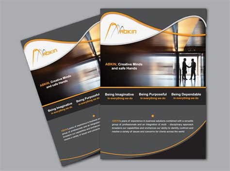 professional brochure design templates modern professional brochure design for newvents by