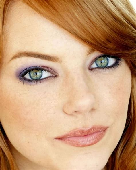 emma stone eye makeup those eyes emma stone 857x1070 the internet