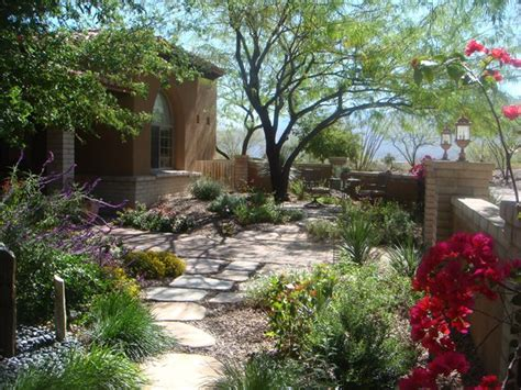 Backyard Landscaping Arizona by Arizona Landscaping Las Cruces Nm Photo Gallery Landscaping Network
