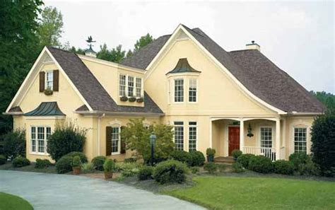Color Ideas For Home Exterior Paint Color Schemes For Stucco House House