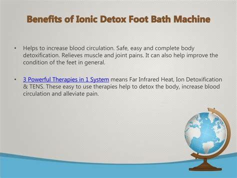 Ion Detox Machine Benefits by Ppt How To Get Started With Ionic Detox Foot Bath
