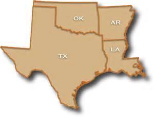 map of arkansas oklahoma and louisiana arkansas map