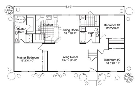 the at columbia floor plans the columbia 4g28523b manufactured home floor plan or