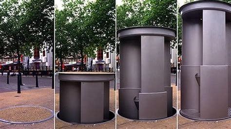 public bathrooms in europe city of sydney unveils pop up urinals more loos and a