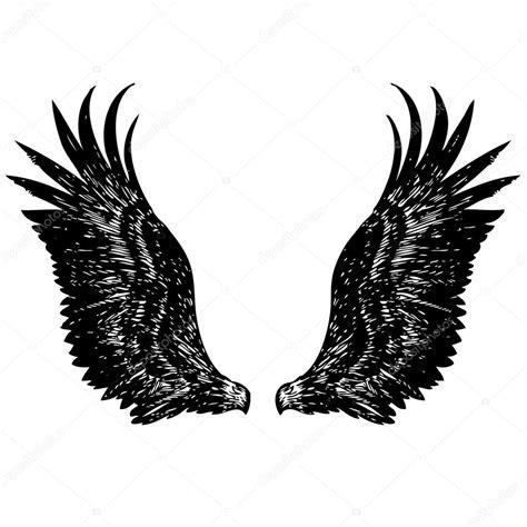 imagenes vectoriales alas ilustraci 243 n a mano alzada dibujo de alas de 193 ngel