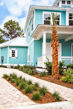 turquoise infused coronado beach cottage turquoise 1000 images about beach house exterior colors on