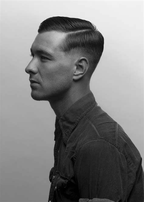 40s Mens Hairstyles by 30 S 40 S Hair Hairstyle Haircut