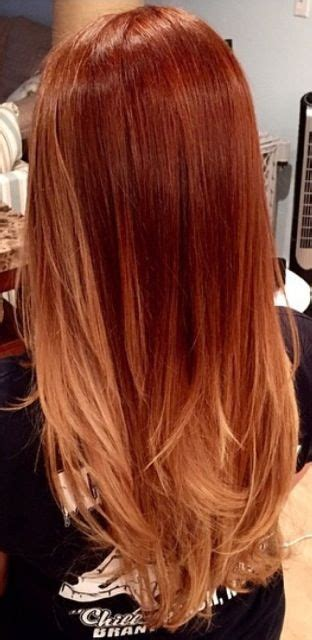 copper brown hair on pinterest color melting hair blonde hair exte 25 best ideas about red blonde ombre on pinterest red