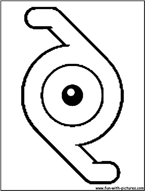 pokemon z coloring pages unown z coloring page alphabet z pinterest pokemon