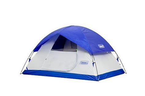 Coleman Sundome 6 Person Tent Redwhite coleman sundome three to four person 9 foot by 7 foot dome