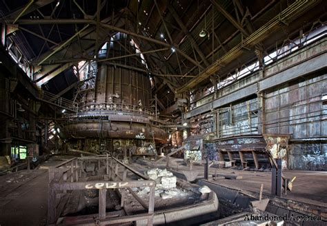 carrie furnaces photography workshop abandoned america