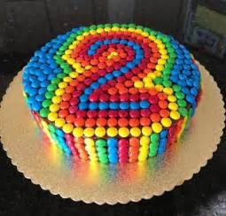 kuchen mit smarties smartie cake smarties cake cakes number