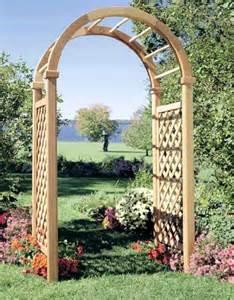 trellis wood arbor trellis arbors garden trellises company cedar