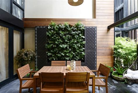 Vertical Garden The Block The Block Threat Week 10 Outdoor Terraces