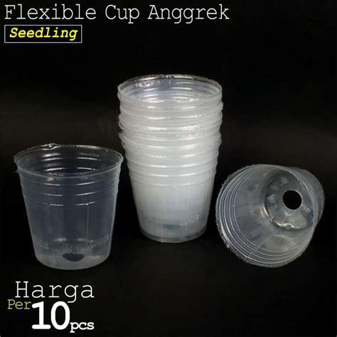 Pot Anggrek Plastik pot plastik cup anggrek pot bibit seedling ukuran