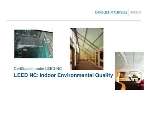 Leed Thermal Comfort by Leed Presentation