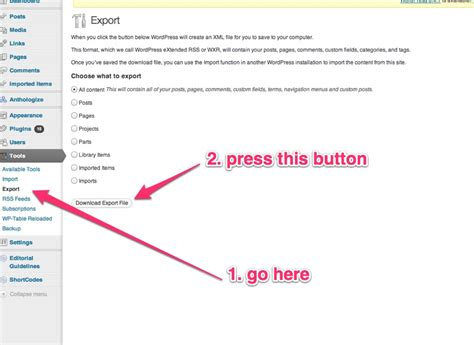 blogger xml export new feature import from wordpress and epub pressbooks