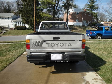 1988 toyota manual 1988 toyota sr5 hilux 4x4 5 spd manual 4