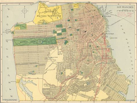 san francisco library map the usgenweb archives digital map library hammonds 1910