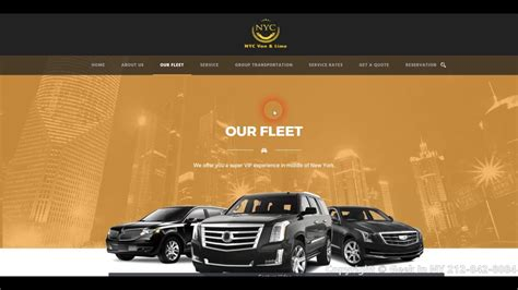 limo website limo website design