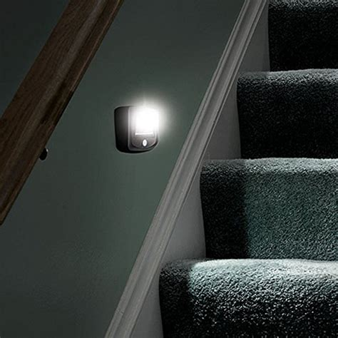 battery operated stair lights mr beams mb522 wireless battery operated indoor outdoor