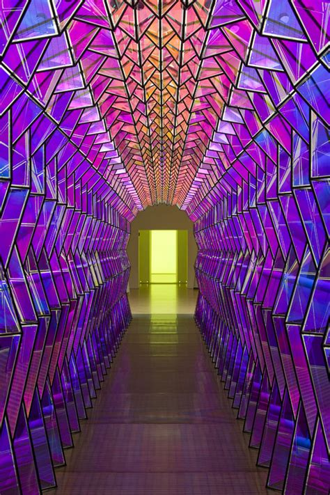 color way one way colour tunnel by olafur eliasson artindoors