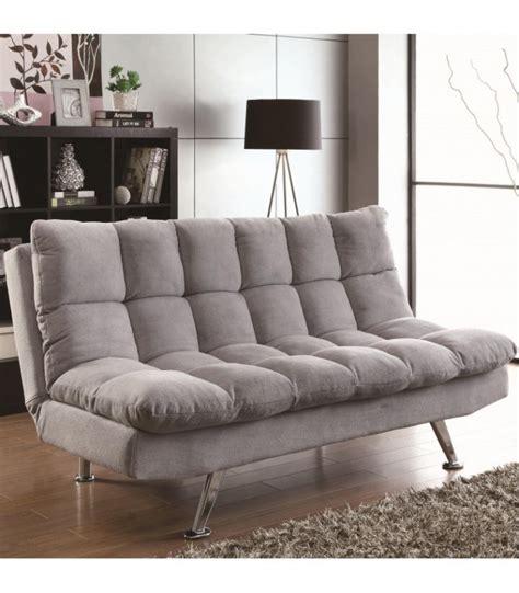 sofa bed light grey sofa beds 500775 coaster furniture