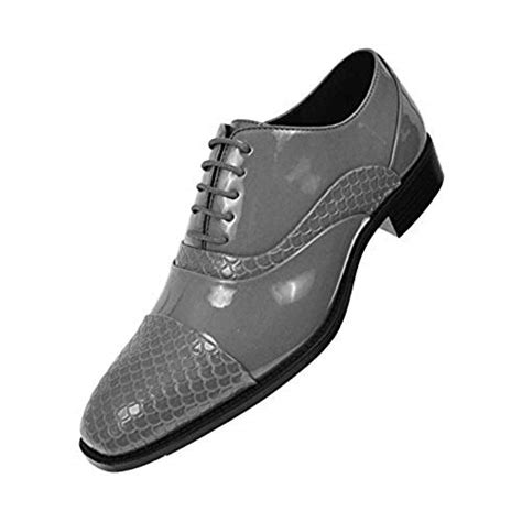 S 7 Dress Shoe by S Grey Dress Shoes Size 14