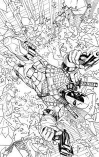 coloring dc dc comics colouring book variant covers 6