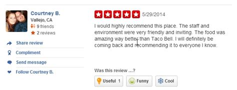 Add Edit A Review Yelp Review Template