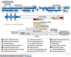 Washington Dulles Map by Washington Dulles International Airport Simple English